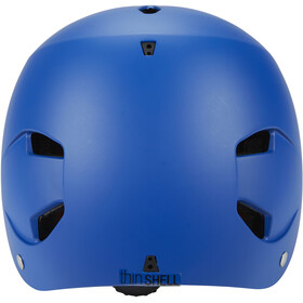 Bern Bandito EPS Helm Thin Shell Kinder matt-blau